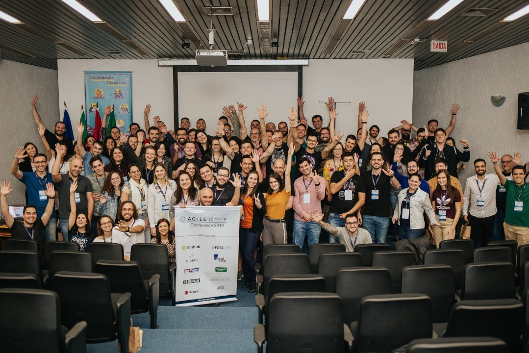 Agilistas na Agile Joinville Conference 2019